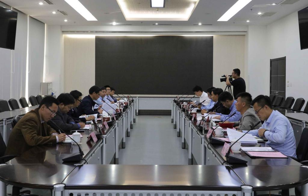 我校与济宁市国家高新区洽谈校企合作事宜